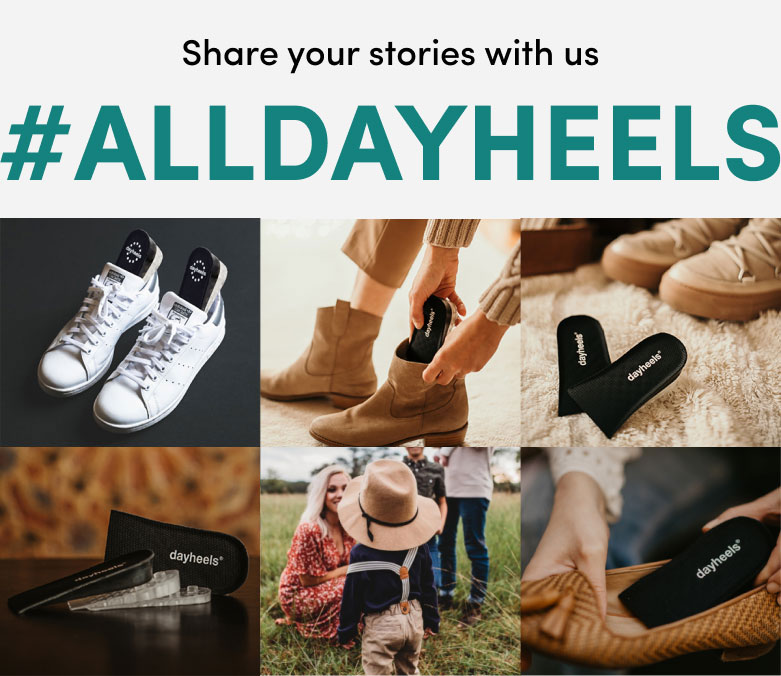 Share your stories with us #Alldayheels