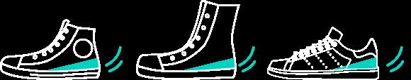 shoe vectors